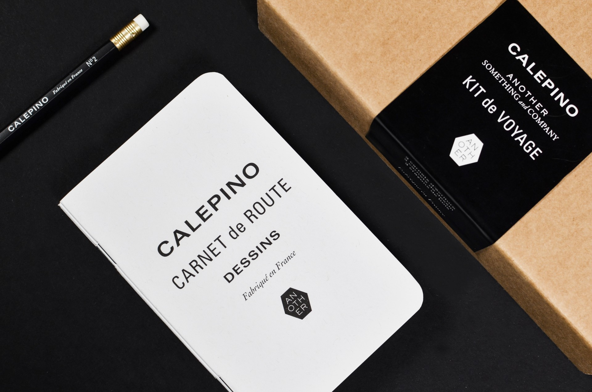 Studio Birdsall - notebook and packaging designs for Calepino × Another Something